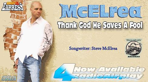 Steve McElrea - Thank God He  Saves A fo