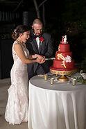 Dorothy & Emmanuel's Wedding cake cuttin