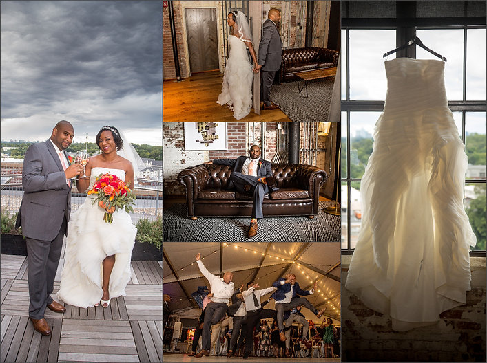 Ponce City Rooftop Wedding