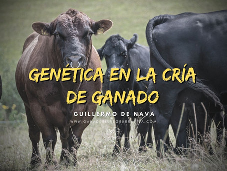 Apuntes sobre Genética en la Cría de Ganado