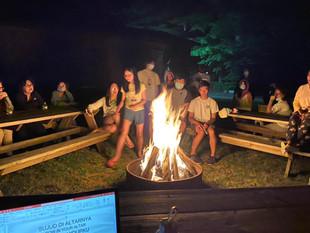 Bon Fire During ICCM Retreat