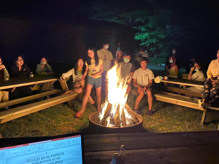 Bon Fire During ICCM Retreat