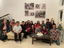 Fellowship at Ps. Joe and Hana Sudirgo's Home