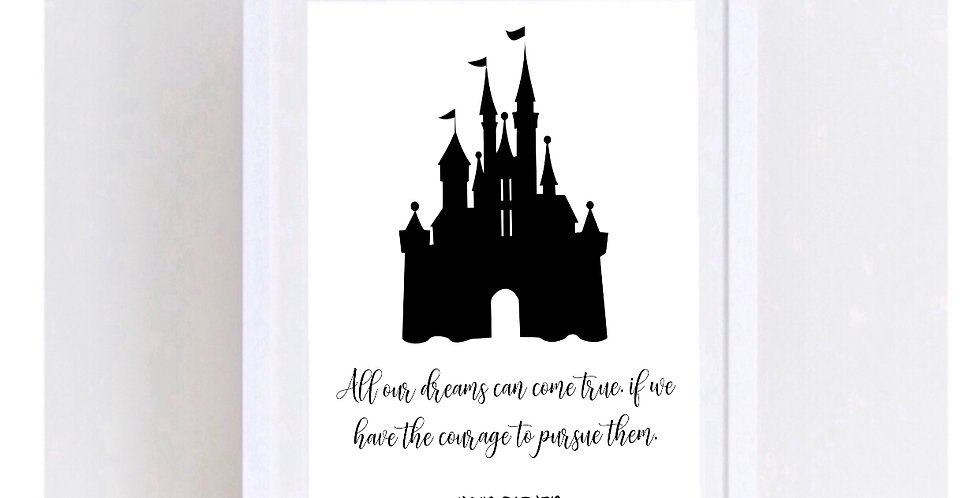 ALL OUR DREAMS - WALT DISNEY