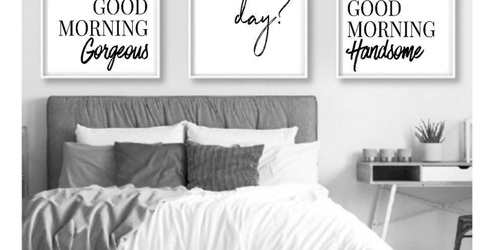 GOOD MORNING HANDSOME/GOOD MORNING GORGEOUS