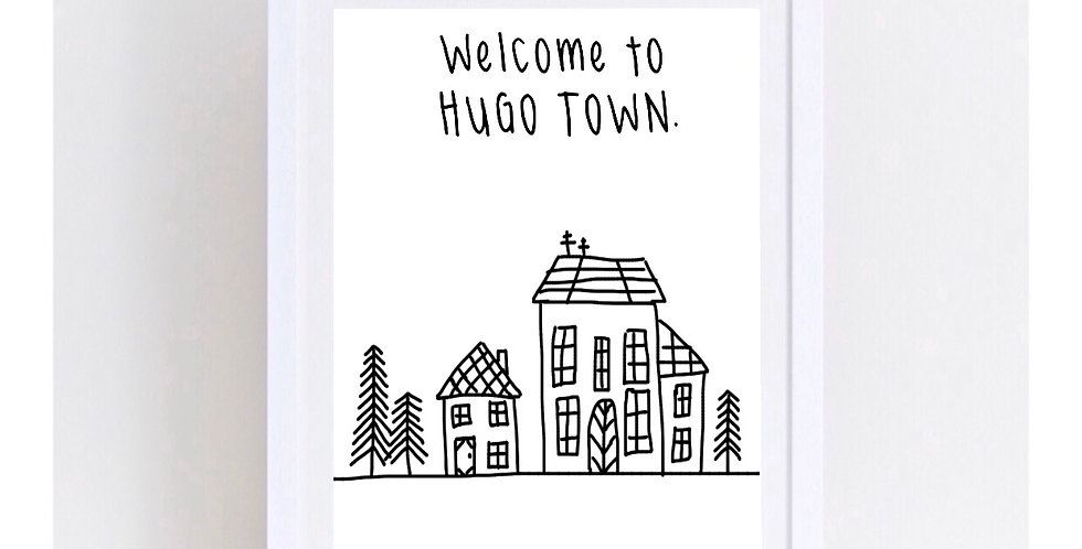 WELCOME TO ... TOWN