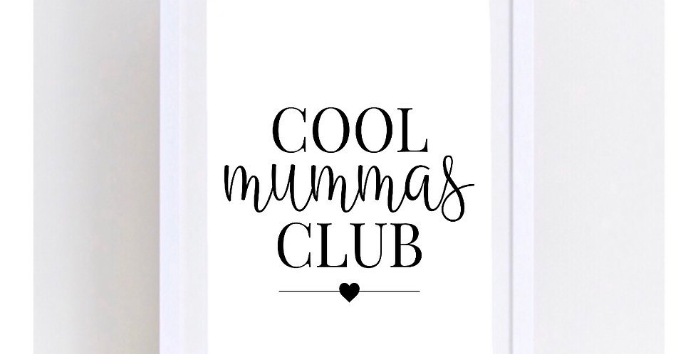 COOL MUMMAS CLUB