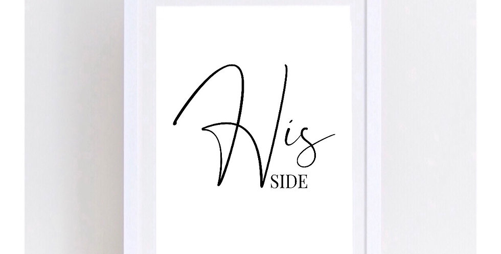 HIS/HER SIDE SET