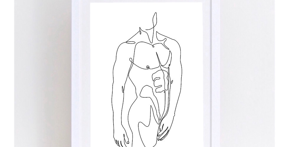 TORSO LINE ART