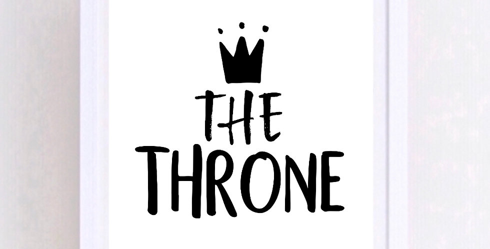 THE THRONE PRINT