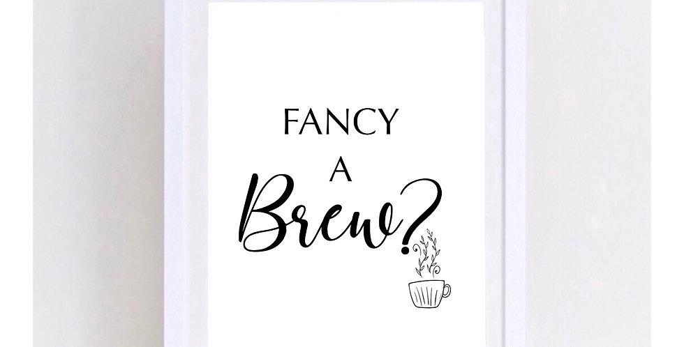 FANCY A BREW?