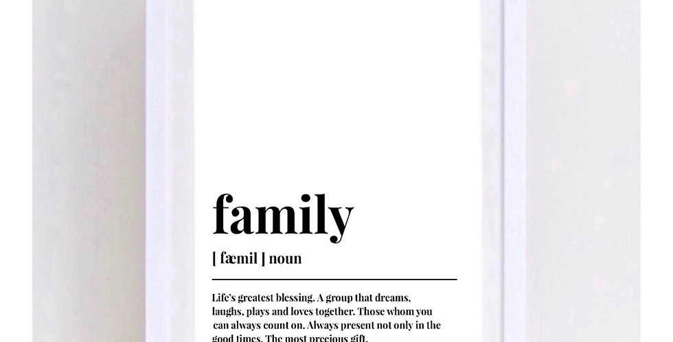 FAMILY - MEANING