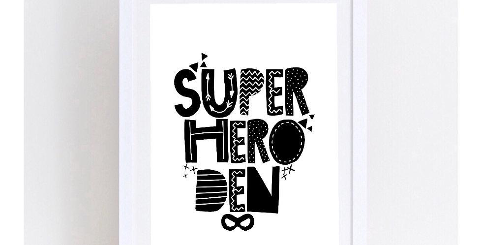 SUPER HERO DEN