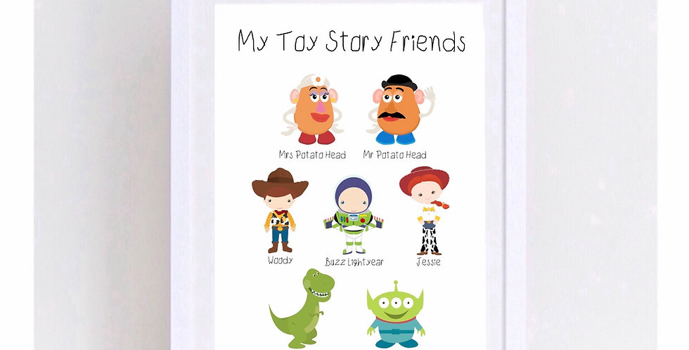 MY TOY STORY FRIENDS