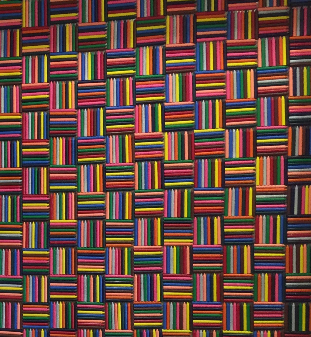 Crayon wall (closed view)
