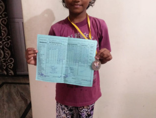 Fin d'année scolaire en Inde