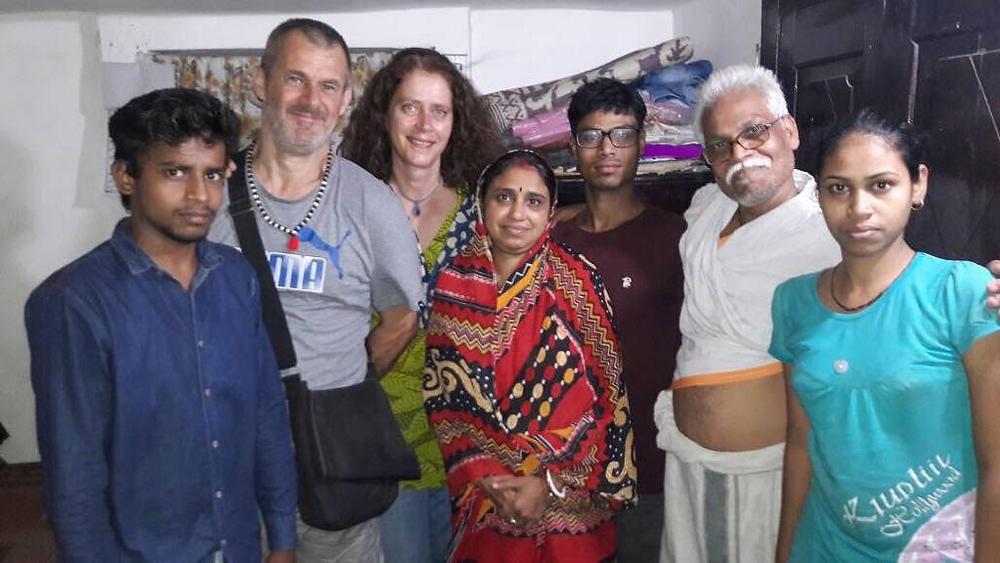 Vivek and Jyotie family