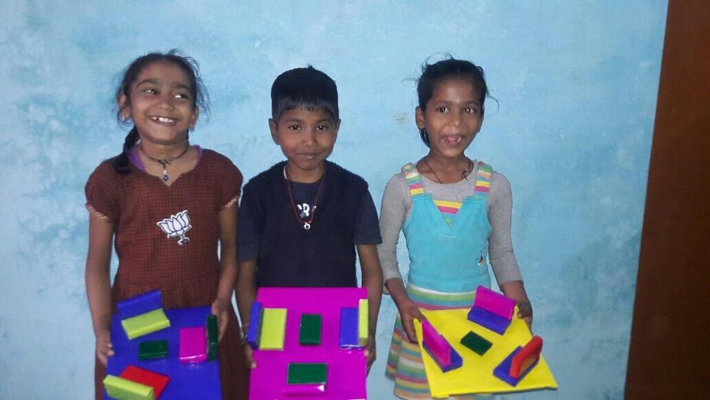 Chaïa, Raj et Chandeni