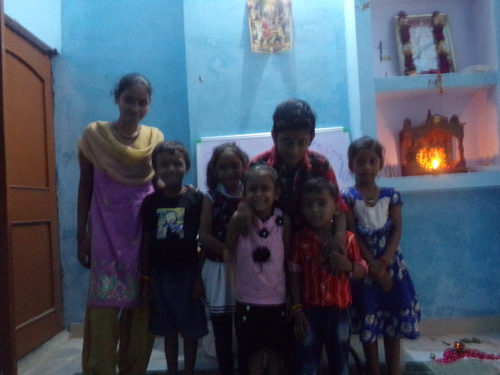 Jyotie, Aman, Chaya, Arpita, Sahil, Priahssou, Chandeni