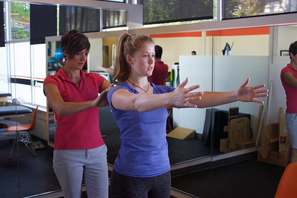 Royal City Physio Karen Nichol Shoulder exercises