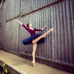 The Faces of Physio: Ballerina
