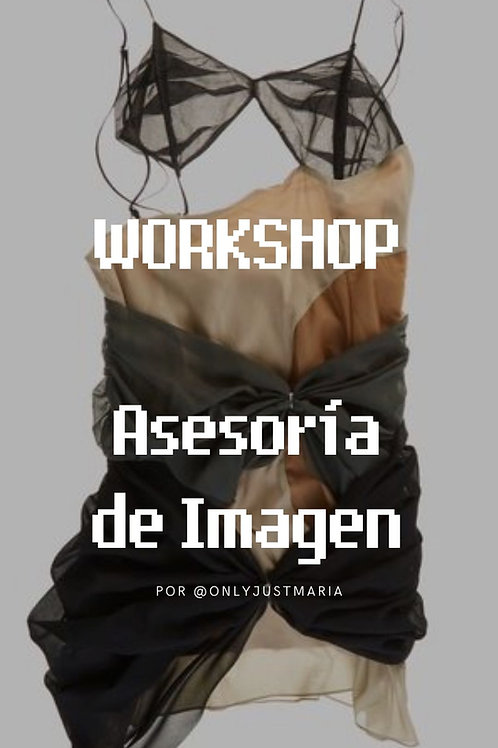 WORKSHOP - ASESORÍA DE IMAGEN