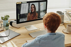 Canva - Photo of Boy Video Calling With