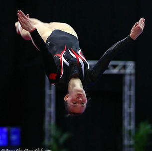 The Faces of Physio: Trampoline gymnast
