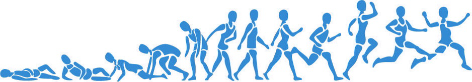 Illustration of figure running.