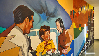 """Continuum Health Partners"" Murals"