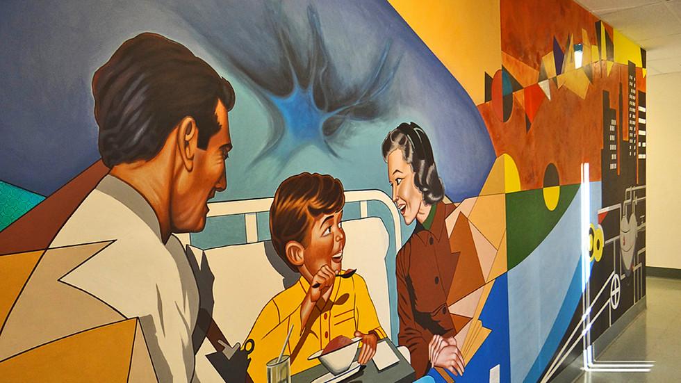 """Continuum Health Partners"" Murals"