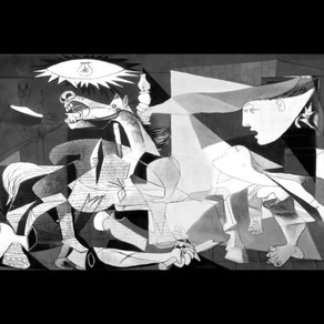 """About Pablo Picasso mural """"Guernica"""""""