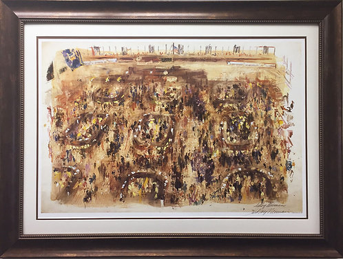 "LeRoy Neiman ""New York Stock Market"""