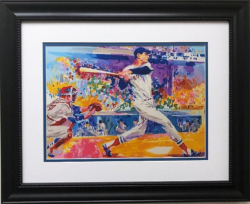 "LeRoy Neiman ""Ted Williams"" FRAMED ART"