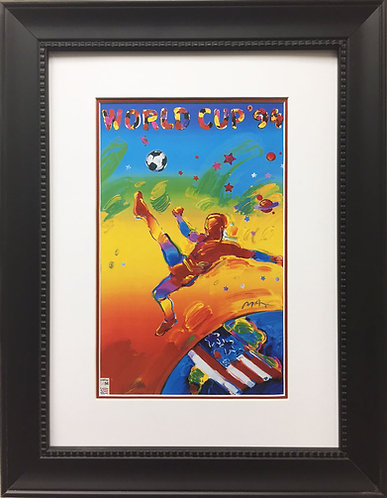 """Peter Max """"World Cup 94'"""""""