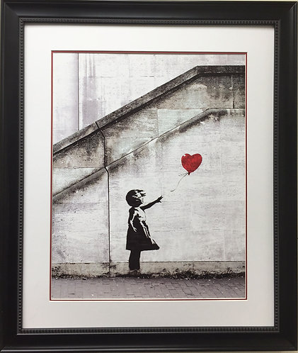 "Banksy ""Red Balloon"""