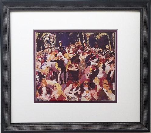 "LeRoy Neiman ""El Morocco New Years Eve 1958"" Newly CUSTOM FRAMED Art Print"