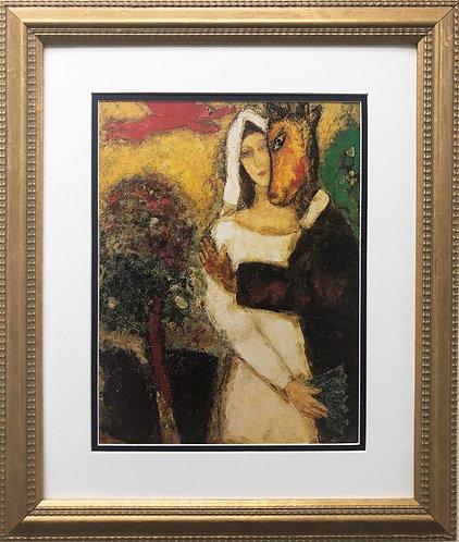 "Marc Chagall ""The Summer Night's Dream"" New FRAMED ART Rare Poster"