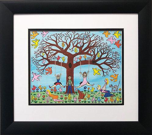 """James Rizzi """"Tree Times the Fun"""""""