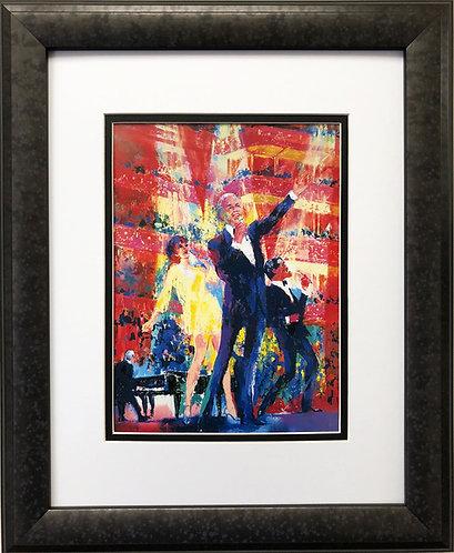 "LeRoy Neiman ""Sinatra-Liza-Sammy at Royal Albert Hall"""