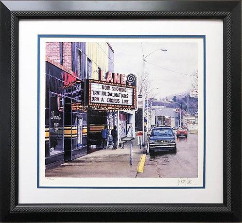 "Davis Cone ""Lane"" Signed & # Framed ART"