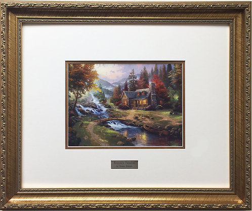 "Thomas Kinkade ""Mountain Paradise"""