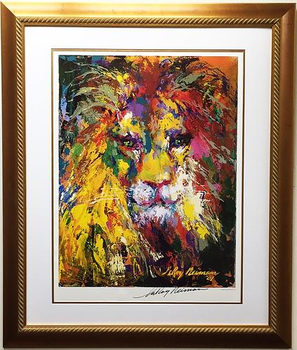 """LeRoy Neiman """"Portrait Of A Lion"""""""