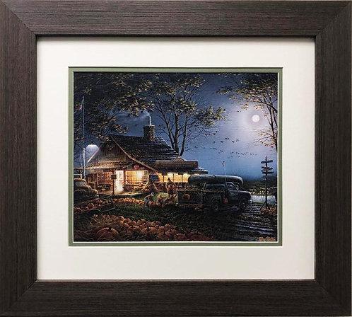 "Terry Redlin ""Autumn Traditions"" CUSTOM FRAMED Art"