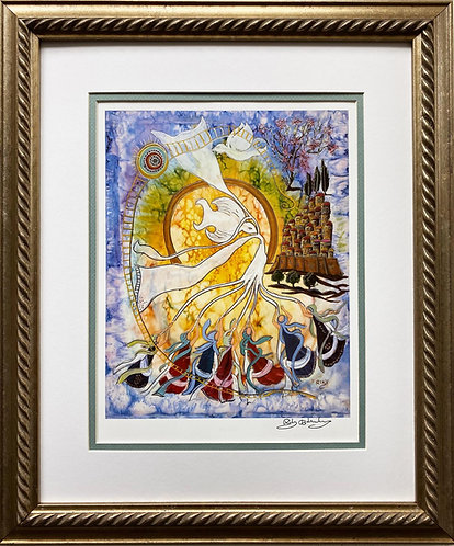 "Rothenberg ""Gathering the Diaspora"" FRAMED Signed Art"