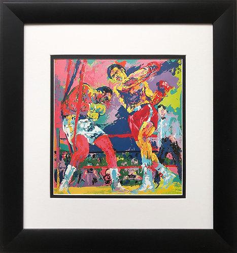 "LeRoy Neima ""Frazier-Forman Jamaica '73 ""   ""The Sunshine Showdown"" Art Boxing"