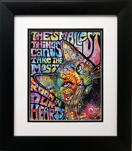 """Dean Russo """"The Smallest Thing Can take the Most Room"""" FRAMED Art"""