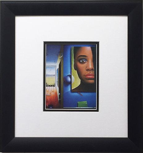 "FERJO ""Dreams And Reality"" Newly CUSTOM FRAMED ART Print Surrealism Miro Picasso"