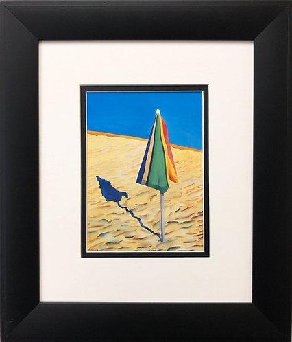 """David Hockney """" Beach Umbrella"""""""