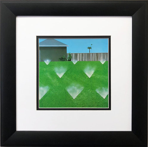 "David Hockney ""A Lawn Being Sprinkled"""